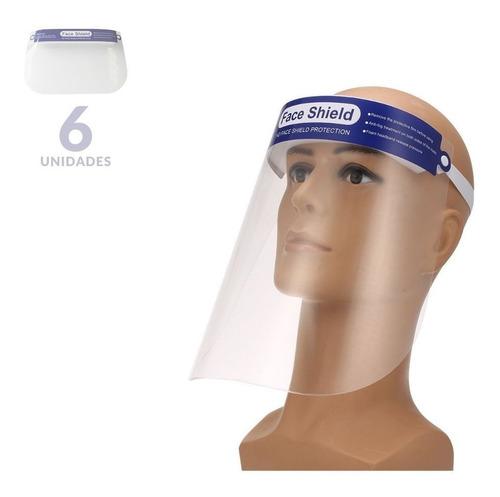 Máscara De Protección Facial X 6 Unidades