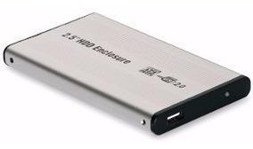 Disco Duro Externo 500 Gb Usb Para Respaldos ( Case + Disco)
