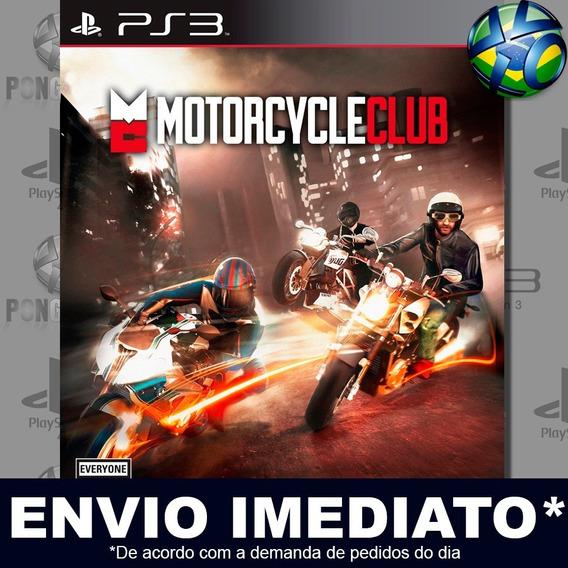 Motorcycle Club Ps3 Psn Jogo Em Promoção A Pronta Entrega