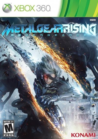Metal Gear Rising Revengeance (xbox 360) Seminovo