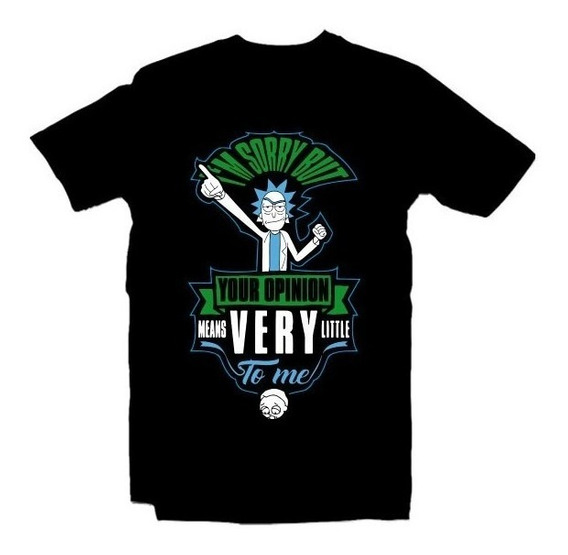 Playeras Rick And Morty Wubba Lubba - 15 Modelos Disponibles