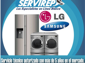 Servicio Tecnico Autorizado Samsung Neveras Secadoras