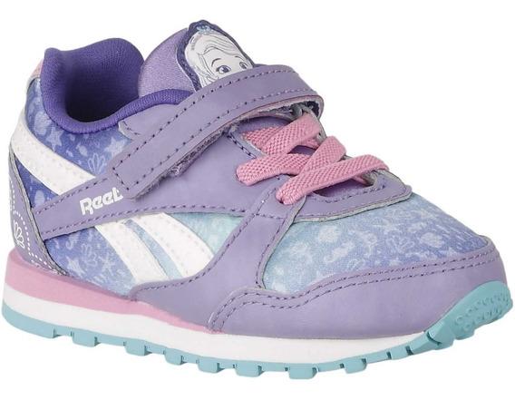 Tênis Infantil Reebok Disney Princesa Sofia Velcro Original