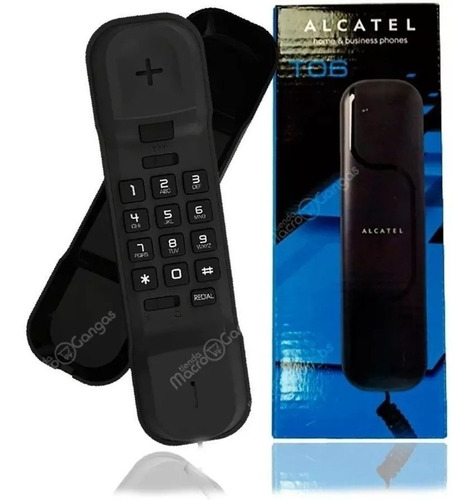 Teléfono Alámbrico Fijo Alcatel T06, Hogar/oficina