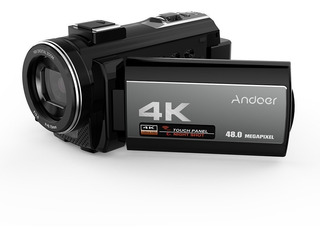 Cámara Vídeo Digital Andoer 4k Videocámara Ultra Hd 48mp Wif