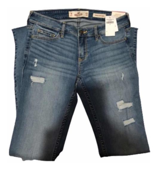 Jeans Pantalones De Mezclilla Hollister Originales Para Dama En Mercado Libre Mexico