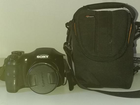 Câmera Digital Sony Cybershot Dsc-h200 20.1mp