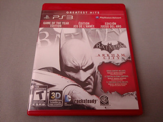 Batman Arkham City Goty Greatest Hits Para Ps3