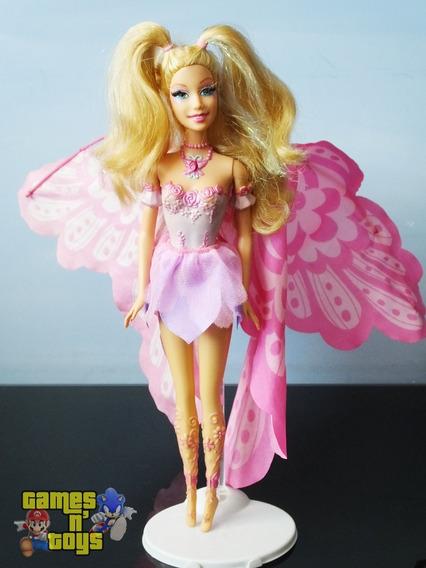 Barbie Elina Fairytopia Mermaidia Fada Q Vira Sereia Mattel