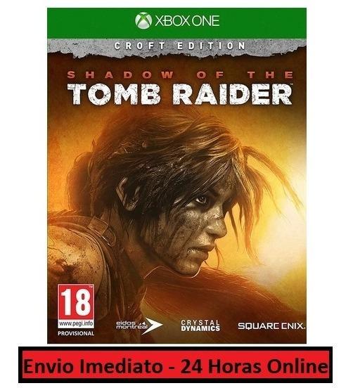 Shadow Of The Tomb Raider Jogo + Todas Dlcs Xbox One Digital