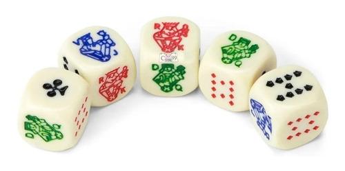 Dados Poker X 5 Conjunto De Dados Die Poker Juego De Mesa