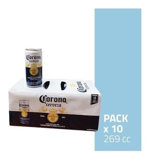 Cerveza Corona En Lata X 269cc