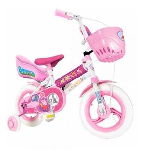 Bici Rodado 12 Peppa