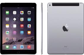 iPad Air 2 128gb 4g Preto+capasilic+pelvidro+fonenovo+ac=imp