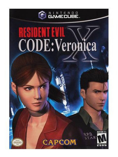 Resident Evil Code Veronica X Usado Ngc Gamecube Vdgmrs
