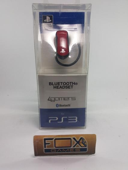 Ps3 Ac Fone Bluetooth Vermelho Gamers Original Sony