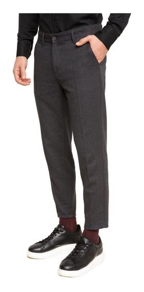 Pantalones Chino Defacto Corte Estándar P/hombre Antracita