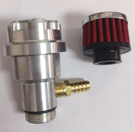 Prolongador De Óleo Fusca Respiro Motor A Ar + Filtro