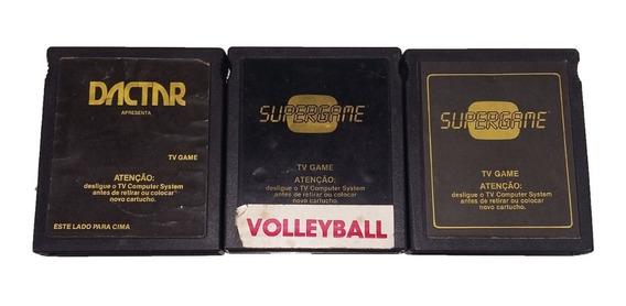Kit Com 3 Jogos (football , Volleyball , Pac-man) Dactar