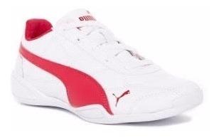 Tenis Puma Blanco Con Rosita 22 Cm / Envio Incluido