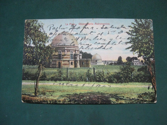 Postal Observatorio Astronomico, La Plata. Edicion Fumagalli