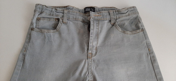 Pantalón Jean Gris Talle 16