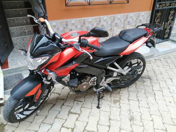 Pulsar Ns Pro 200 Naranja