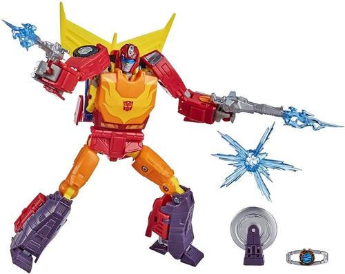 Boneco Transformers Hot Rod Robô Carro Voyager Hasbro F0712
