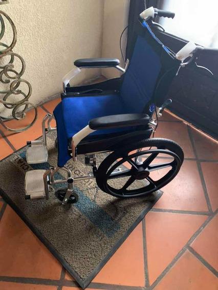 Silla De Ruedas Aluminio Súper Ligera