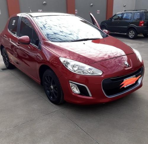 Imagen 1 de 12 de Peugeot 308 2012 1.6 Allure Nav Hdi 115cv