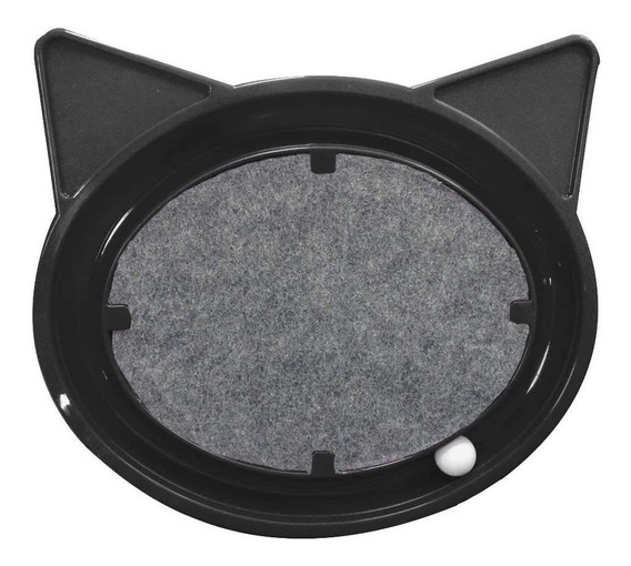 Brinquedo Para Gatos Super Cat Relax Pop Preto Furacão Pet