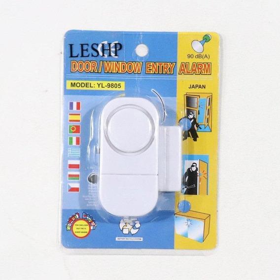 Alarma De Seguridad Puerta Ventana Sensor Magnético Wireless