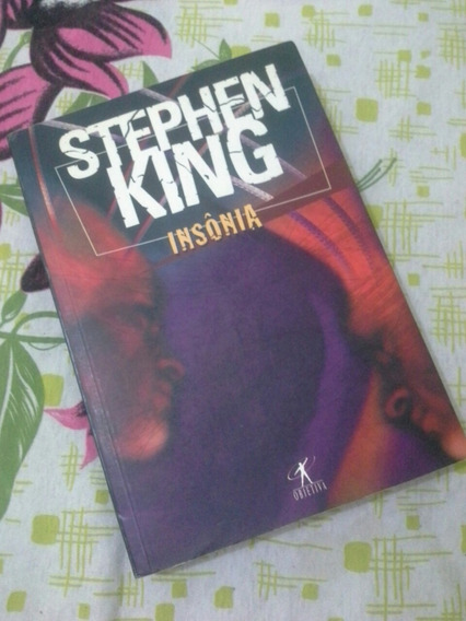 Livro Insonia - Stephen King - Raro