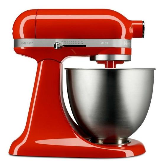 Batedeira Stand Mixer Kitchenaid Artisan Mini Hot Sauce 220v