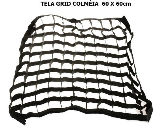 Tela Grid Colméia Para Softbox 60 X 60