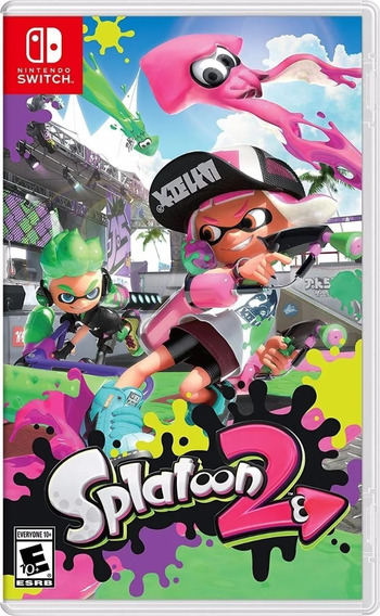 Splatoon 2 Switch Midia Fisica! Pronta Entrega!
