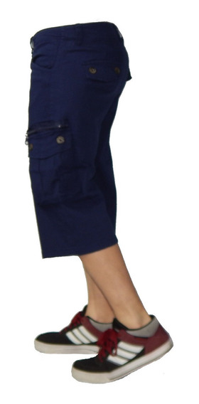 Bermudas Cargo Shorts Hasta Talle 62 Jeans710