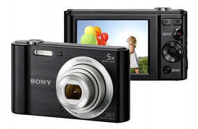 Câmera Digital Sony W800 Preto
