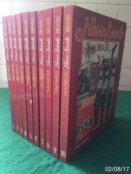 * Coleção Completa Encadernada - Nosso Século - 10 Volumes *