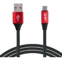 Cable Micro Usb Ghia 1.0 Mts Usb 2.1 Cargador Y Tran Cb-1282