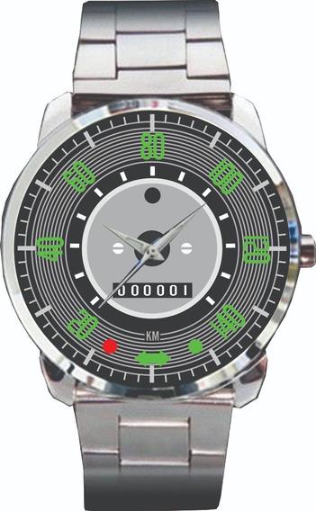 Relógio De Pulso Personalizado Painel Fusca 140- Cod.vwrp031