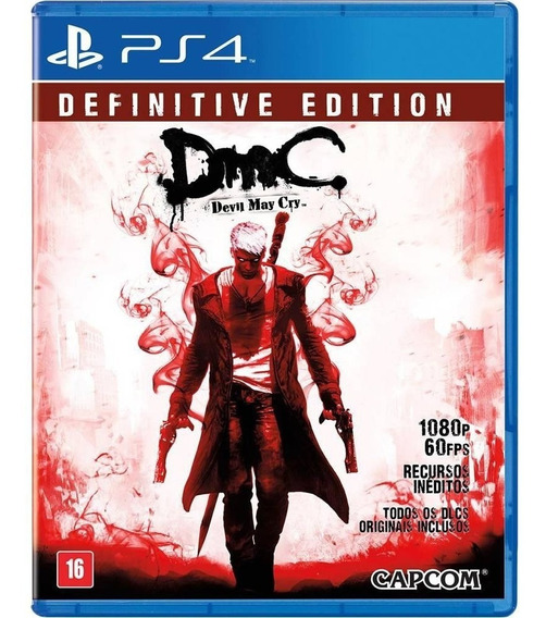 Devil May Cry - Dmc - Definitive Edition - Ps4