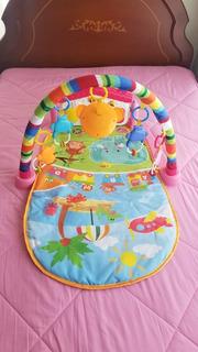 Gimnasio Para Bebé Usado Con Piano Como Nuevo Juguetes Niños