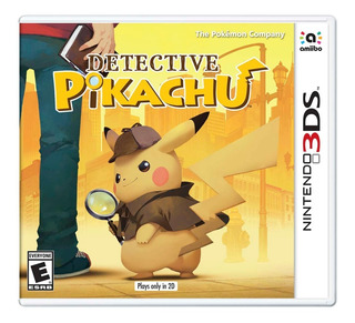Detective Pikachu Fisico Nuevo Nintendo 3ds Dakmor
