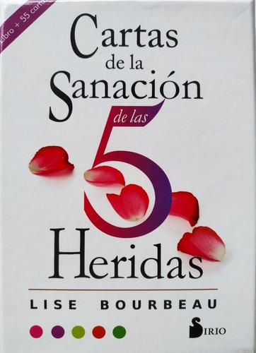 Imagen 1 de 4 de Cartas De La Sanación De Las 5 Heridas Libro Y 55 Cartas