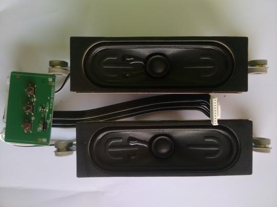Alto Falante O Par Mas Teclado E Sensor, Da Tv Semp L32d2900