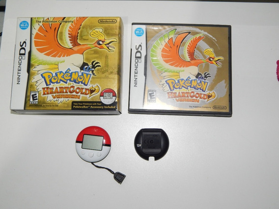 Pokémon Heartgold Com Pokéwalker - Nintendo Ds