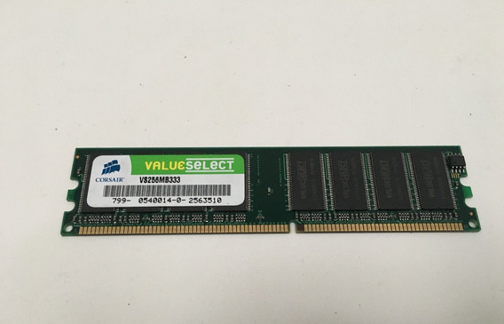 Memoria Ram Corsair Value Select 256mb Vs256mb333