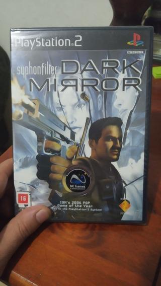 Jogo Ps2 Syphon Filter - Dark Mirror - Original Lacrado