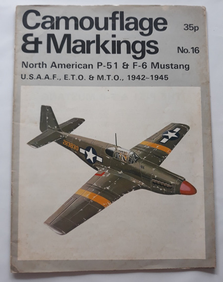 Revista Camouflage & Markings P51 Mustang